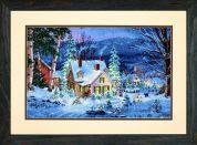 Dimensions Counted Cross Stitch Kit Winter's Hush