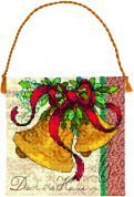 Dimensions Counted Cross Stitch Kit Bells Ornament