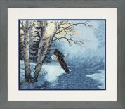 Dimensions Counted Cross Stitch Kit Morning Flight
