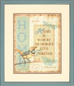 Dimensions Counted Cross Stitch Kit Home Memories