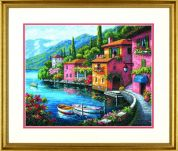 Dimensions Counted Cross Stitch Kit Lakeside Village
