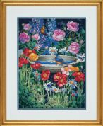 Dimensions Counted Cross Stitch Kit Garden Reflections