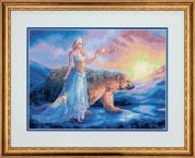 Dimensions Counted Cross Stitch Kit Aurora