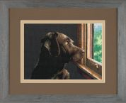 Dimensions Petite Counted Cross Stitch Kit Pondering Pup