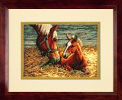 Dimensions Petite Counted Cross Stitch Kit Good Morning