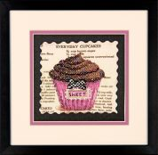 Dimensions Stamped Cross Stitch Kit Everyday Cupcakes