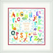 Dimensions Counted Cross Stitch Kit Alphabet Birth Record