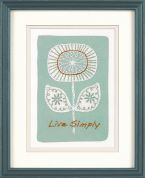 Dimensions Crewel Embroidery Kit Live Simply