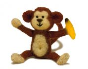 Dimensions Needle Felting Craft Kit Monkey