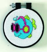 Dimensions Learn A Craft Counted Cross Stitch Kit Cool Fins