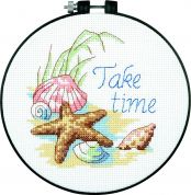 Dimensions Learn A Craft Counted Cross Stitch Kit Take Time