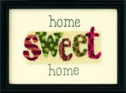 Dimensions Punch Needle Embroidery Kit Home Sweet Home