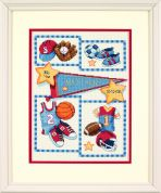 Dimensions Baby Hugs Stitching Kit Birth Record Little Sports