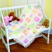 Dimensions Baby Hugs Stitching Kit Counted Afghan ABC