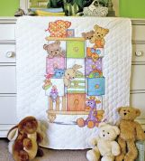 Dimensions Baby Hugs Quilt Kit Baby Drawers