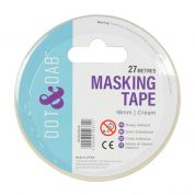 18mm Dot & Dab Masking Tape 27m