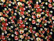 Floral Print Woven Viscose Dress Fabric