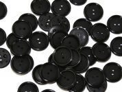 Dill Round Rimmed 2 Hole Plastic Buttons