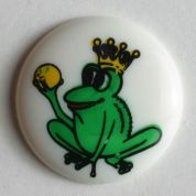 Dill Round Frog Buttons