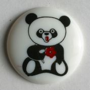 Dill Round Panda Buttons