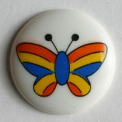Dill Round Butterfly Buttons