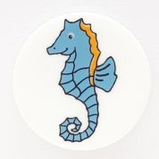 Dill Round Seahorse Buttons