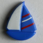 Dill Boat Buttons  Blue