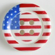 Dill American Flag Buttons