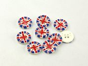 Dill Union Jack Buttons