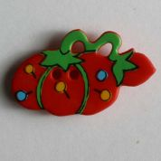 Dill Sewing Theme Buttons  Red