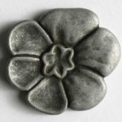 Dill Metal Flower Buttons