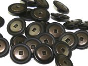 Dill Round Metal & Plastic Shank Buttons