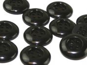 Dill Round Chunky Plastic 4 Hole Buttons