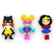 Dress It Up Girl Power Buttons