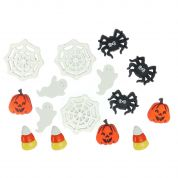 Dress It Up Shaped Novelty Buttons Things That Go Boo! Halloween