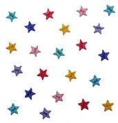 Dress It Up Shaped Novelty Buttons Stars Flirt Minis