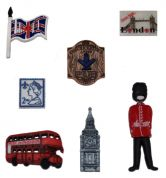 Dress It Up Shaped Novelty Buttons England