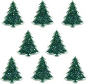 Dress It Up Shaped Novelty Buttons Christmas Trees