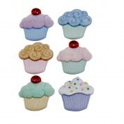 Dress It Up Shaped Novelty Buttons Sweet Treats