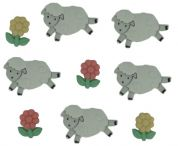 Dress It Up Counting Sheep Buttons