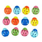 Dress It Up Shaped Novelty Buttons Cute As A Bug