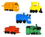 Dress It Up Shaped Novelty Buttons Choo Choo's