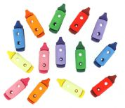 Dress It Up Shaped Novelty Buttons Crayons