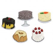 Dress It Up Shaped Novelty Buttons Let Them Eat Cake