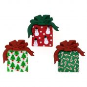 Dress It Up Shaped Novelty Buttons Under the Christmas Tree