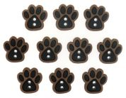 Dress It Up Shaped Novelty Buttons Paws
