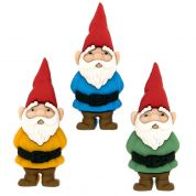 Dress It Up Garden Gnomes Buttons