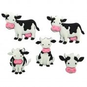 Dress It Up Mooove It! Buttons