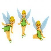 Dress It Up Disney Shaped Novelty Buttons Tinkerbell