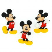 Dress It Up Disney Shaped Novelty Buttons Mickey Mouse